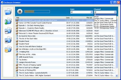 FeedReader screenshot (410 pix)