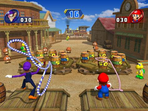 Mario Party 8 - Lasso werpen