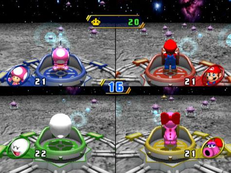 Mario Party 8 - Schieten