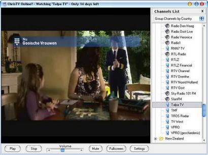 ChrisTV Online screenshot (410 pix)