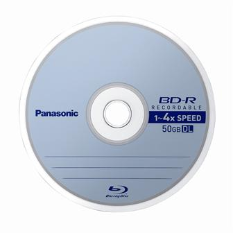 Panasonic blu-ray 4x disc