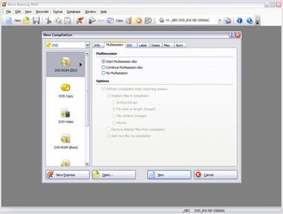 Nero Burning Rom 7 screenshot (410 pix)
