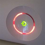 'Red ring of death' op een Xbox 360