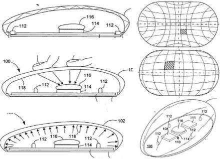 Apple-patent op multitouchmuis