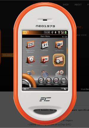 OpenMoko Neo1973 Linux-smartphone