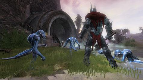 Overlord - blauwe minions