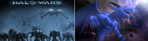 Halo Wars en Blue Dragon