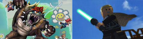 Super Smash Bros en LEGO Star Wars: The Complete Saga