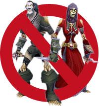 Verboden voor skeletten