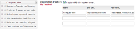 Abofeature: rss-feeds in tracker