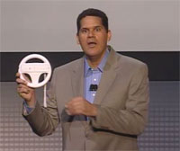 Reggie Fils - Wii Wheel