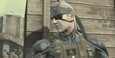 Metal Gear Solid 4 - ingame screenshot