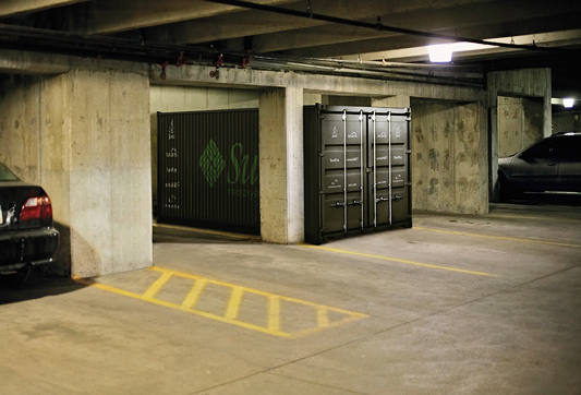 Sun Project Blackbox scenario - Parkeergarage