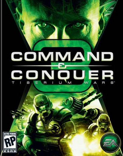Command & Conquer 3: Tiberium Wars, box shot (410 pix)