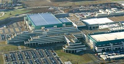AMD-fabriek in Dresden, Duitsland