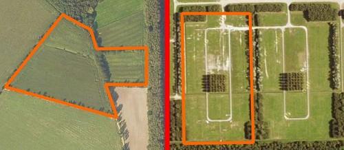 Het nieuwe en oude veld van Campzone