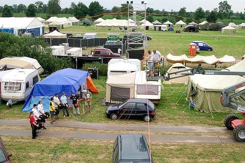 Campzone 2007 - fiberhangers