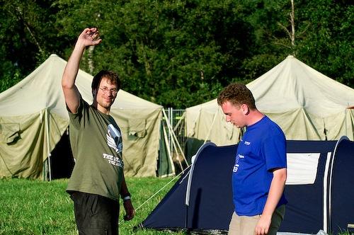 Campzone 2007 - een groet aan de lezers