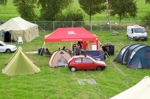 Campzone 2007 - CJB bouwt op