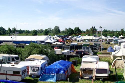 Campzone 2007 - zonneschijn 1