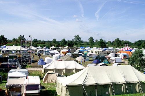 Campzone 2007 - zonneschijn 2