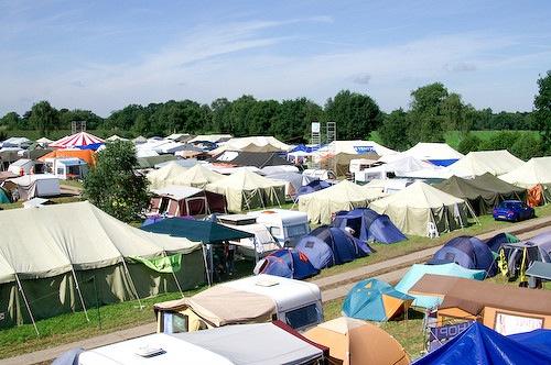 Campzone 2007 - zonneschijn 3