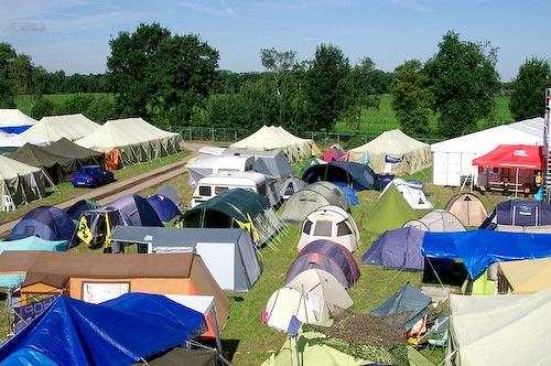 Campzone 2007 - zonneschijn 4