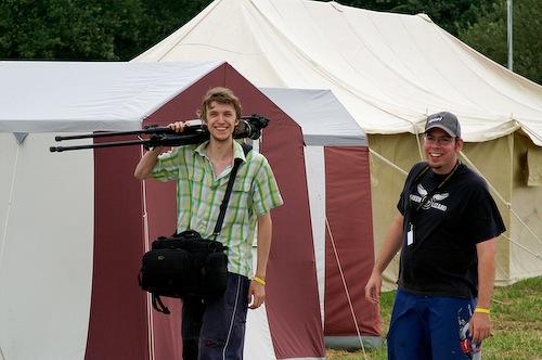 Campzone 2007 - CCTV'er met T@C'er