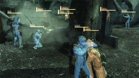 Metal Gear Online - lichaamswarmte