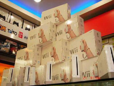 Nintendo Wii in winkel