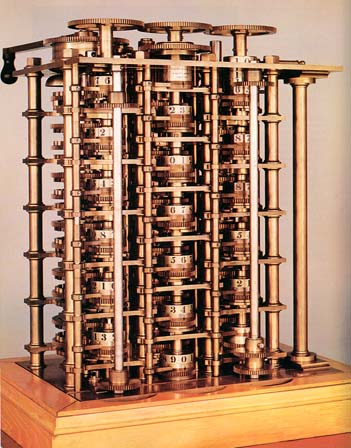 Replica van Charles Babbage's 'Difference Engine'