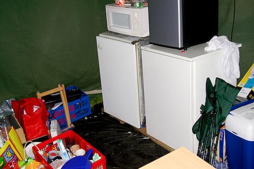 Campzone 2007 - koelkasten