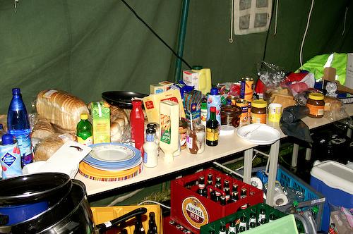 Campzone 2007 - eten en drinken