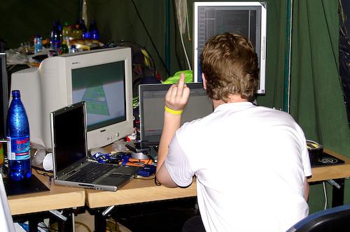 Campzone 2007 - AK47 doet zijn ding