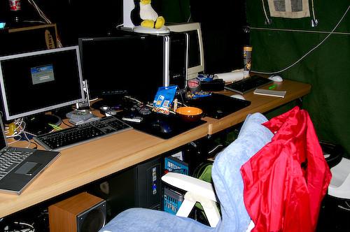 Campzone 2007 - Robin en GeniusDex