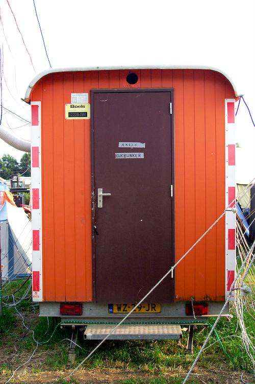 Campzone 2007 - Het hok met de switches