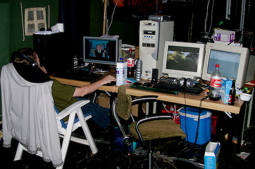 Campzone 2007 - SilentStorm en Bleet