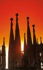 Zonsopgang voor Barcelona