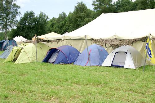 Campzone 2007 - slaaptentjes