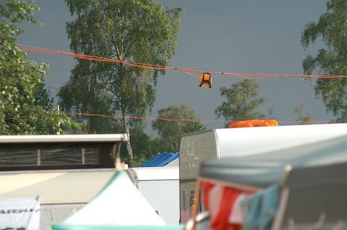 Campzone 2007 - de fiber hangt