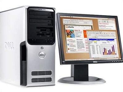 Dell-pc met Ubuntu