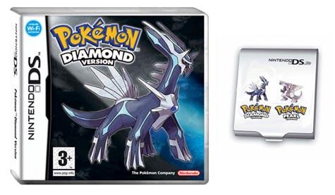 Pokemon Diamond en opbergdoosje