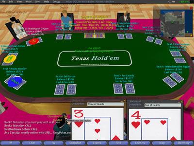 Pokeren in Second Life