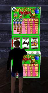 Eenarmige bandiet in Second Life