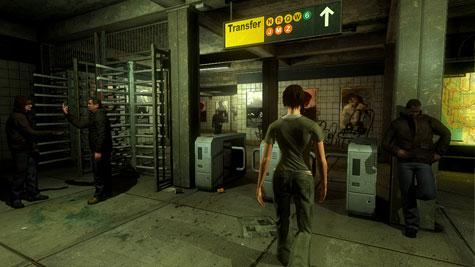 The Darkness - metro