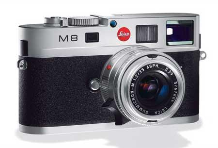 Leica M8 Zilver