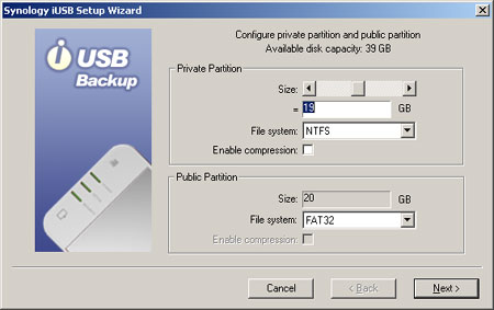 Screenshot iUSB-setup