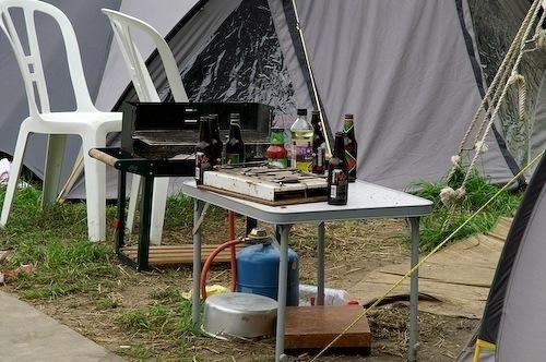Campzone 2007 - barbecuerommel