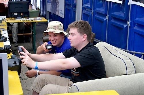 Campzone 2007 - racen zonder rijbewijs