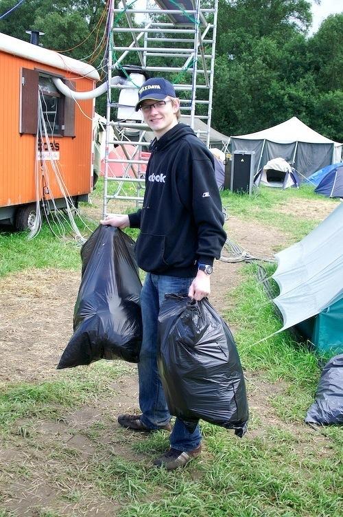 Campzone 2007 - opruimen